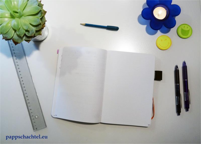 Runas Pappschachtel Notizbücher, Bullet Journal, Planen, journaling