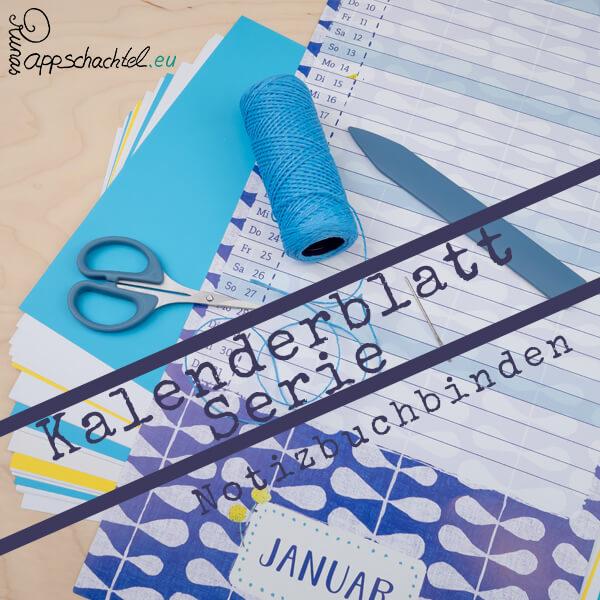 Ein Notizbuch aus Kalenderblättern? Binde mit mir zwölf Notizbücher aus Kalenderblättern. Hier bekommst du einfache DIY Anleitungen zu verschiedenen Buchbindemethoden für selbstgemachte, selbst geheftete oder gebundene Notizbücher und Journlas so wie meine Tipps als kreative Inspiration dazu. Alles auf pappschachtel.eu #Buchbinden #DIY #Upcycling #junkjournal #mixedmedia #artjournal #journal #craft #diy #howto #Anleitung