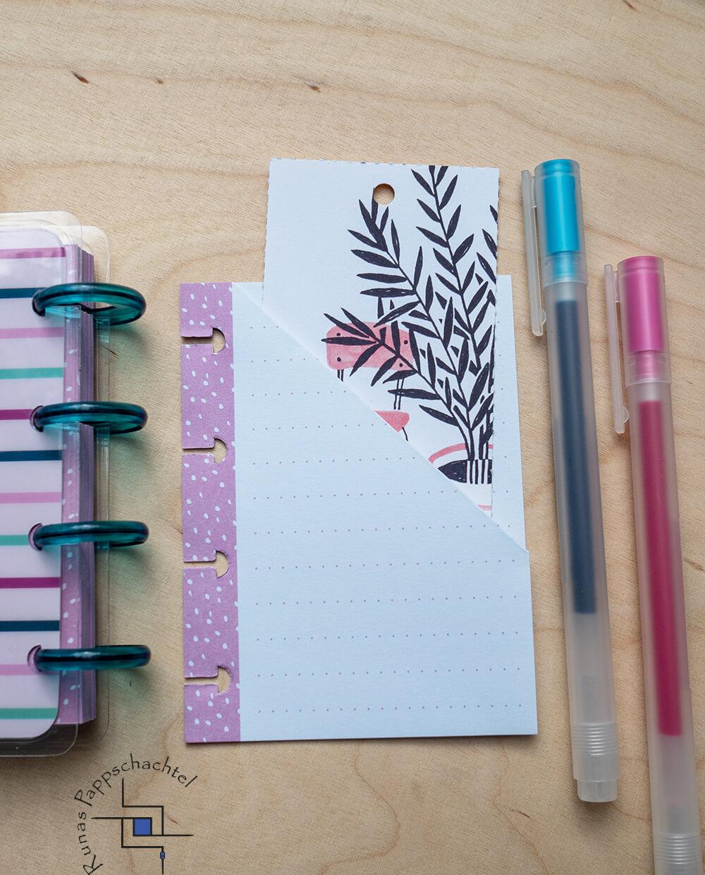 Einstecktasche für Discbound Notebooks 10 pappschachtel.eu