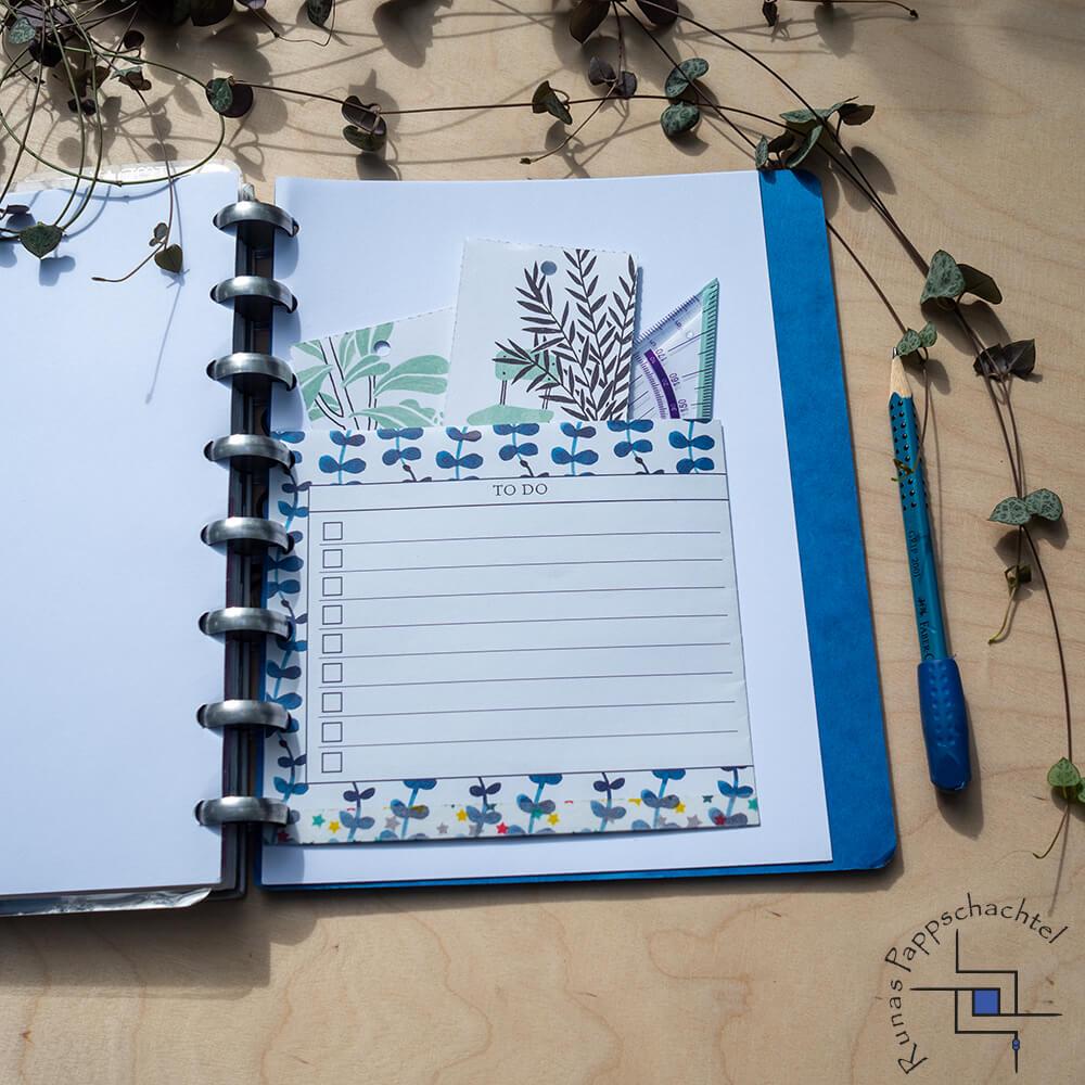 Einstecktasche für Discbound Notebooks 4 pappschachtel.eu